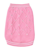 V.I. Pink Dog Sweater