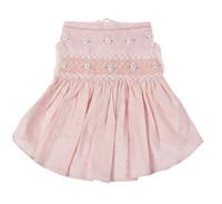 Undottedly Pink Hand-Smocked Dog Dress