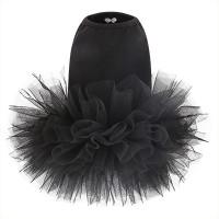 Puppy Angel Tutu Dog Dress - Black