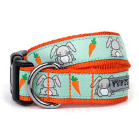 Bunnies Pet Dog & Cat Collar & Optional Lead