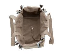 Custom Doe Plaid Nouveau Bow Luxury Dog Purse / Carrier