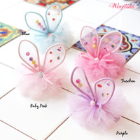 Wooflink Little Bunny Fairy Pet Barrettes