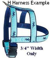 Preston Ribbon Pet Dog H Harnesses