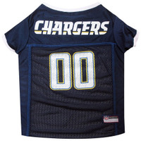 Los Angeles Chargers Dog Jersey