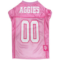 Texas A&M Aggies Pink Pet Jersey