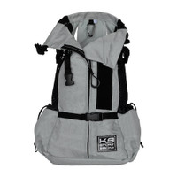 K9 Sport Sack AIR 2--Light Grey- Pets Up to 40 lbs