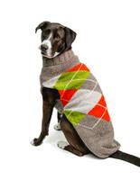 Trendy Boy Argyle Hand Knit Dog Sweaters