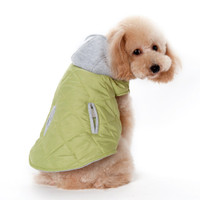 City Puffer Pet Dog Jacket - Pink