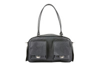 Marlee Pet Dog Carrier - Black Woven by Petote