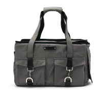 Pet Dog Buckle Tote BB - Charcoal