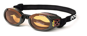 Racing Flames ILS Doggles Dog Sunglasses