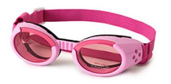 Shiny Pink ILS Dog Sunglasses