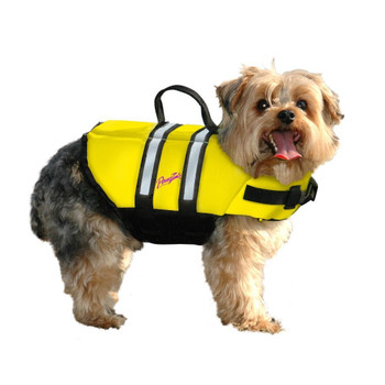 Dog Life Jacket - Bright Neon Yellow