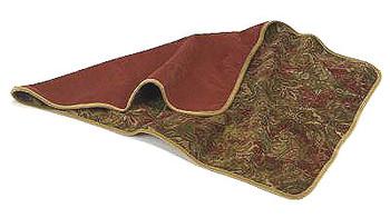 Dog Reversible Throw Blankets - Duke