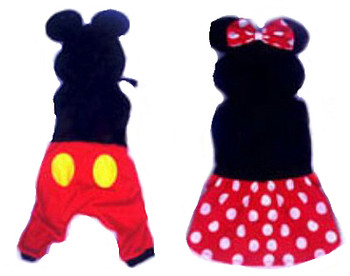 Costume - Mickey & Minnie Mouse