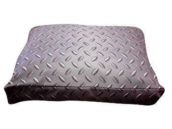 Dog Bed, Duvet or Throw - Diamond Plate Rectangle