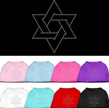 Star of David Dog Tank