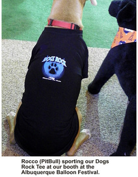 Dogs Rock Dog Tee