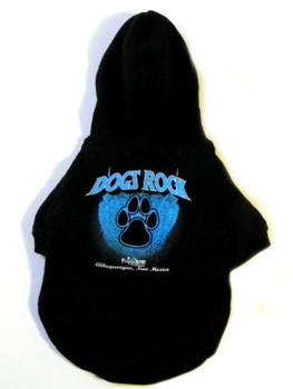 Dogs Rock Dog Hoodie