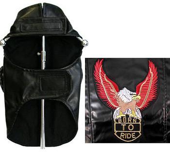 Dog Biker Jacket - Black - Born to Ride