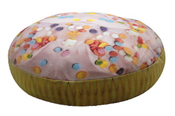 Dog  Bed or Duvet - Cupcake Round