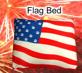 Dog Bed, Duvet or Throw - American Flag Rectangle