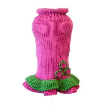 Girlie Girl Dog Sweater Dress