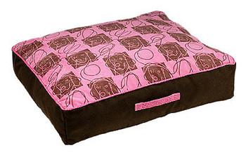 Designer Tahoe Dog Bed - Tickled Pink