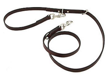Leather Multi-Function Leashes - 6 in 1!