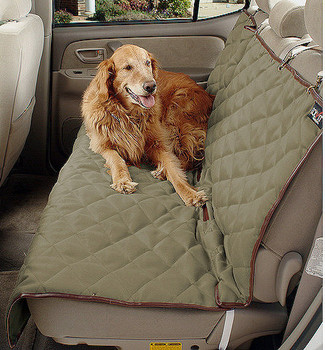 Deluxe Bench Dog Seat Cover