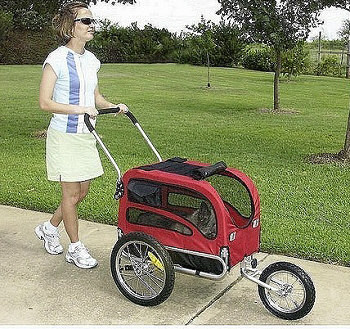 Jogging/Stroller Kit for Medium Track'r