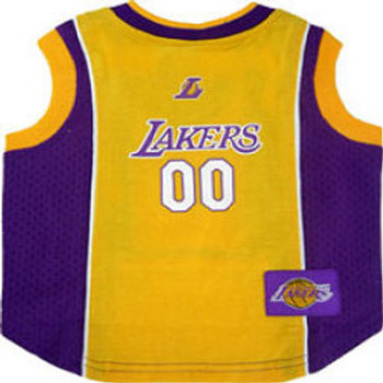 NBA Los Angeles Lakers Dog Jersey