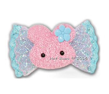 Dog Bow Barrette  - Bunny Foo Foo - for Large Dogs