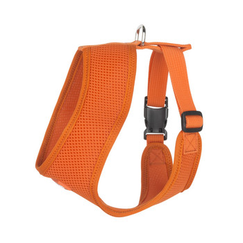 Mesh Dog Harness Vests - Orange Ultra Comfort