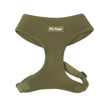 Mesh Dog Harness Vests - Olive Ultra Comfort