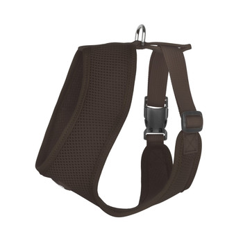 Mesh Dog Harness Vests - Chocolate Ultra Comfort