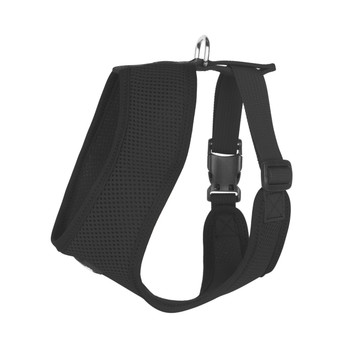 Mesh Dog Harness Vests - Black Ultra Comfort