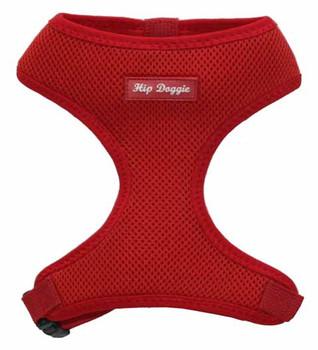 Mesh Dog Harness Vests - Red Ultra Comfort