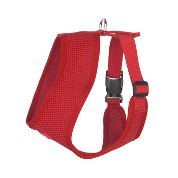 Mesh Dog Harness Vests - Red Ultra Comfort