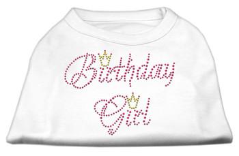 Birthday Girl Rhinestone Dog Tank