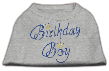 Birthday Boy Rhinestone Dog Tank