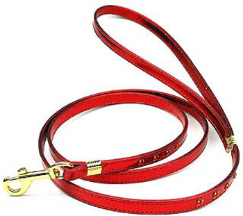 "Dog Collar - Metallic 3/8"" Plain Collar"