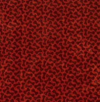Microvelvet Dutchie Bed - Cherry Bones