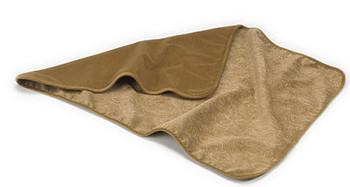 Dog Reversible Throw Blankets - Paisley Cedar