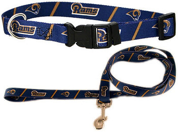Saint Louis Rams NFL Dog Collars & Leashes