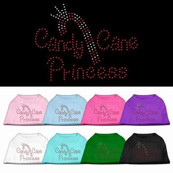 Christmas Rhinestone Candy Cane Tank