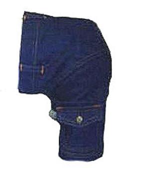 Denim Cargo Dog Pant