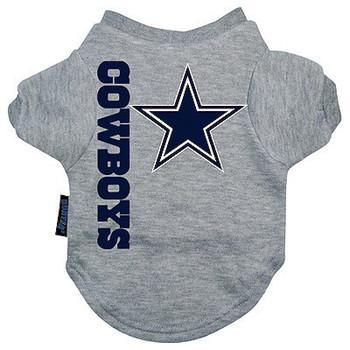 Dallas Cowboys Dog Tee Shirt -  Large & XL