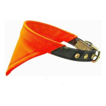 Dog Collar Bandana - Iridescent Orange Hunting
