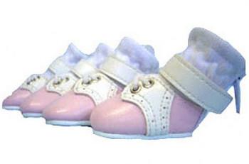 Saddle Dog Shoes - Pink